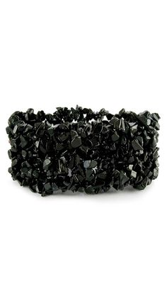 Onyx Stretch Bracelet by Novica