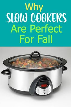 Consider using your slow cooker more this season and see if its convenience factor helps you have a more enjoyable autumn this year. Imagine coming home to a delicious meal just waiting to be served, devoured and appreciated by your hungry family!