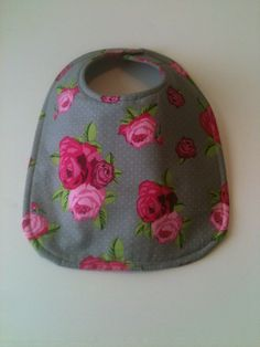 Baby Bib Second Item Ships Free. Roses by Essiedesigns on Etsy