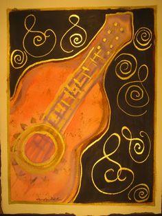 Flamenco Guitar Art