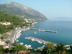 Poros Port, Kefalonia, Greece