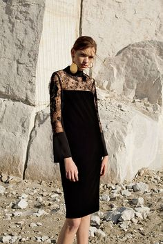 Have you been looking at long sleeves lace wedding dress or even pink lace dresses Learn more at the website click the bar for more options~ All Black Fashion, All Black Outfit, Love Fashion, Fashion Beauty, Fashion Show, Womens Fashion, Fashion Design, Steampunk Fashion, Gothic Fashion