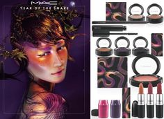 The Year of the Snake by MAC | Invogue