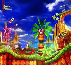 Sonic CD by CharlieCasado