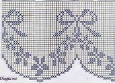 Crochet Edging And Borders Borders for everyone For those who love ornate borders and for those who like a swaying as the latter. Each in their own way beau. Filet Crochet, Crochet Lace Edging, Crochet Borders, Cross Stitch Borders, Crochet Diagram, Thread Crochet, Crochet Doilies, Cross Stitching, Crochet Hooks