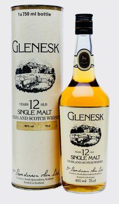 GLENESK 12 YEAR OLD Bot. 1980s, Highlands