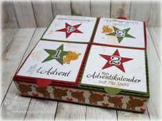 Montag kam mir die Idee, dass man mit der Pizza Box Stanze  von Kulricke  doch auch einen Adventssonntagskalender machen könnte. Gesagt - g...