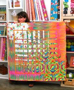 Sewing Quilts Modern Quilter Meet Ups: The Quilting Bee Comes Full Circle Quilting Projects, Quilting Designs, Sewing Projects, Quilt Modernen, Patch Aplique, Contemporary Quilts, Bargello, Mini Quilts, Fabric Art