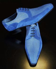 My blue suede shoes...