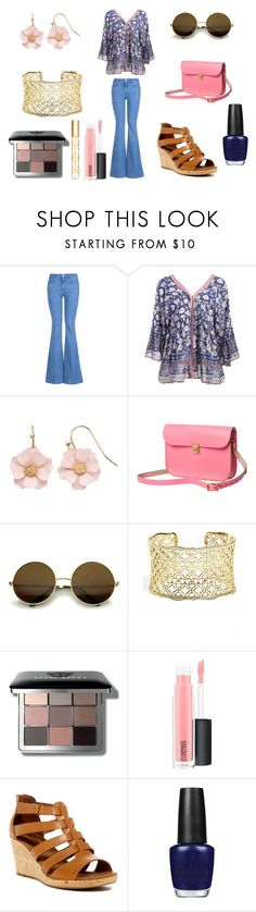 """""""Chic 70s Style"""" by holly32196-1 on Polyvore featuring STELLA McCARTNEY, LC Lauren Conrad, N'Damus, Kendra Scott, Bobbi Brown Cosmetics, MAC Cosmetics, Rockport, OPI, Tory Burch and vintage"""