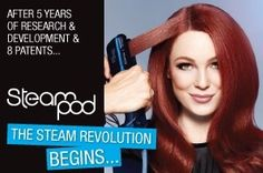 Now available at Gloss! L'oreal steam pod, why flat iron, when you can deep condition and steam your hair...What a treat!