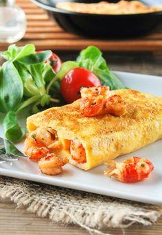 Receta 661: Tortilla de colas de cangrejos de río » 1080 Fotos de cocina