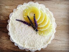 Doux bonheur: Ananásový cheesecake s kokosom