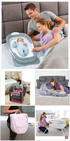 Shop Target for standard bassinet you will love at grea - Babyzimmer Junge Baby Necessities, Baby Essentials, Baby Needs, Baby Love, Baby Gadgets, Baby Checklist, Everything Baby, Baby Furniture, Cool Baby Stuff