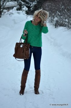 Such a cute winter outfit!!