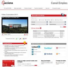 Canal Empleo ACCIONA - ACCIONA