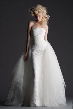 Cymbeline Wedding Dresses 2014. To see more: http://www.modwedding.com/2014/05/02/cymbeline-wedding-dresses-2014/ #wedding #weddings #fashion