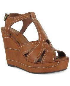 Mia Zeppelin Wedge Sandals