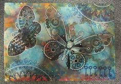 Create Something Beautiful... just because you can!: Steampunk Butterfly