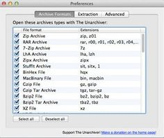 the unarchiver free mac app