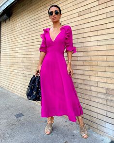 (notitle) perfect summer outfits that can now be copied - Fashion Ideas Kit - # Kit, # fashion B. The Dress, Pink Dress, Dress Skirt, Wrap Dress, Cocktail Vestidos, Casual Dresses, Fashion Dresses, Colourful Outfits, Look Chic