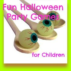 Hosting a Halloween Party? Look at these fun Halloween Party Games for Children to keep everyone happy and busy ... in a good way!