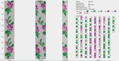 6 around bead crochet pattern. Crochet et compagnie: Schémas Crochet Bracelet Pattern, Crochet Beaded Bracelets, Bead Crochet Patterns, Bead Crochet Rope, Beaded Bracelet Patterns, Peyote Patterns, Jewelry Patterns, Beading Patterns, Beaded Crochet