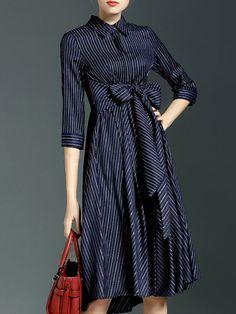 https://www.stylewe.com/product/paneled-bow-midi-dress-11351.html