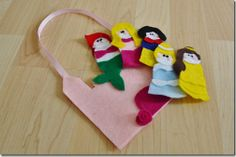 disney princess finger puppets