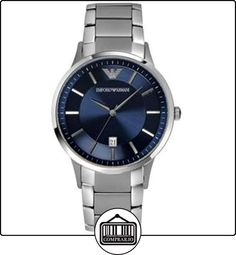 d78843eafa6 Shop the Emporio Armani Mens Classic Blue Silver Watch from our Mens  watches range at Free UK Delivery and a 2 year guarantee.