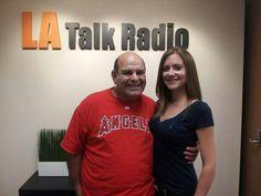Doing an interview on LA Talk Radio with Cameron Datzker.
