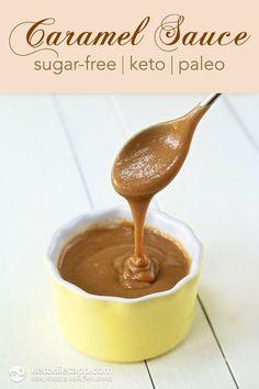 Keto & Paleo Caramel Sauce (sugar-free, low-carb)