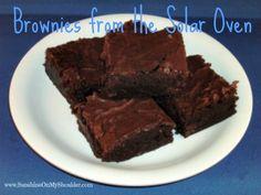 Solar Baked Brownies | Sunshine On My Shoulder
