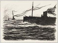 Patrouilleurs. Maxime Maufra, 1917.