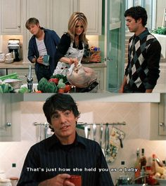 it's amusing when they make fun of kirsten for her incompetence in cooking -the oc