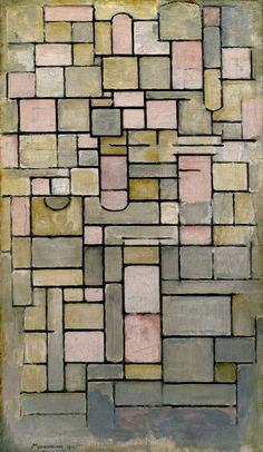 Composition 8 by Piet Mondrian by Guggenheim Museum Size: 94.4x55.6 cm Medium: Oil on canvasSolomon R. Guggenheim Museum, New York Solomon R. Guggenheim Founding Collection © 2007 Mondrian/Holtzman Trust
