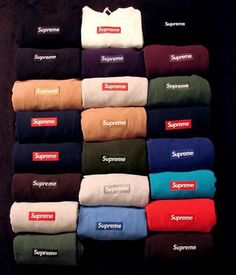 #supreme box logo collection