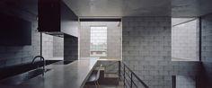 701-house Gray Interior, Home Interior Design, Concrete Slab, Japanese House, Architecture, Colorful Interiors, Interior Inspiration, Building A House, Minimalism