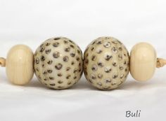 Handmade Lampwork Glass Beads by BuliGlassBeads on Etsy, $12.00