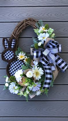 Wreath Crafts, Diy Wreath, Grapevine Wreath, Wreath Ideas, Holiday Wreaths, Holiday Crafts, Diy Easter Decorations, Easter Wreaths Diy, Diy Spring Wreath