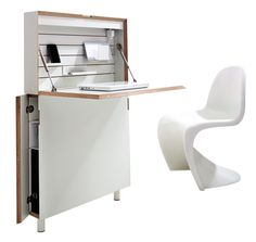 Flatmate and Flatbox Home office, space saving solution | Bonbon Compact Living…