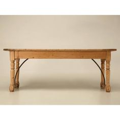 Wonderful Antique Irish Work Table Retaining Its Hand Wrought Iron Braces  For Added Strength And Stability. These Tables Were Originally Used In  Farmhouse ...
