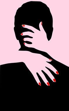 Arte Pop, Malika Fabre, Pop Art, Graphisches Design, Notan Design, Clever Design, Print Design, Art Print, Drawing Hair