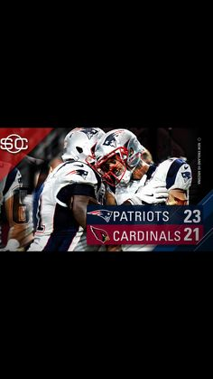 The Start of the 2016 Patriots Season. Patriots Win! Well, this graphic is double awesome!