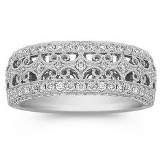 Diamond Pave Set Ring - beauty for the right hand.