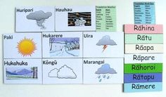 Days of the Week & Weather (Maori) resource $18, others also