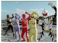 Power Ranger Dino Thunder - Bakuryū Sentai Abaranger ... Dinosaur