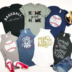 favorite baseball tanks tees Favorite Baseball Tees TanksYou can find Tees and more on our website Softball Shirts, Sports Shirts, Sports Apparel, Baseball Tips, Uk Baseball, Baseball Pants, Baseball Cleats, Baseball Stuff, Baseball Players
