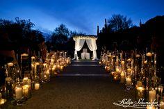 An illuminating ceremony set up at The Phoenician!