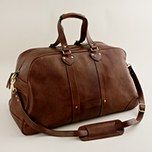 weekender bag - not sure what type I would like though i.e. leather v fabric etc?!